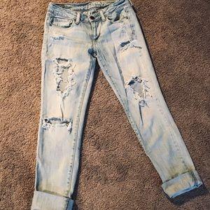America Eagle skinny jeans